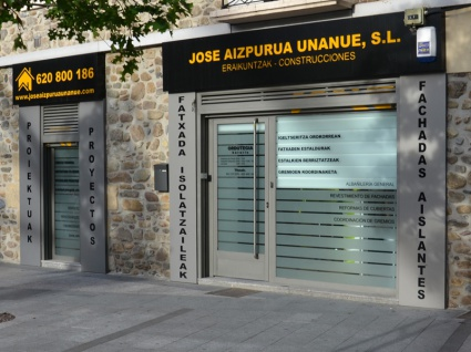 Exterior Construcciones José Aizpurua Unanue